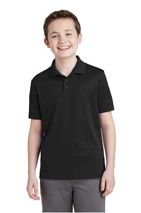 Picture of Sport-Tek ®  Youth PosiCharge ®  RacerMesh ®  Polo. YST640