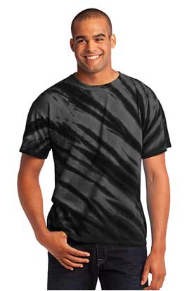 Picture of Port & Company ®  - Tiger Stripe Tie-Dye Tee. PC148