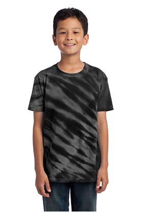 Picture of Port & Company ®  - Youth Tiger Stripe Tie-Dye Tee. PC148Y