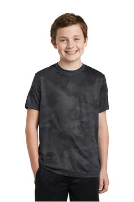 Picture of Sport-Tek ®  Youth CamoHex Tee. YST370