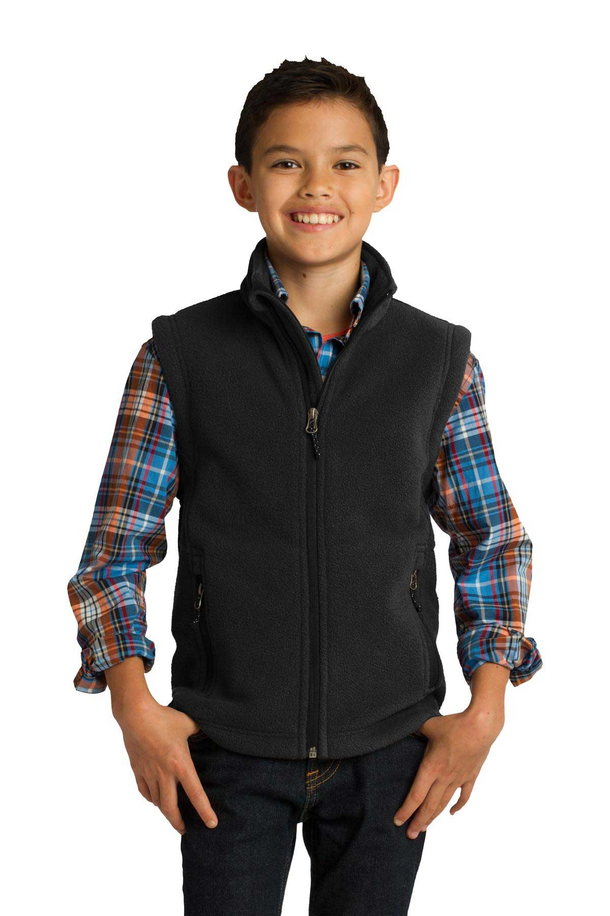 Picture of Port Authority ®  Youth Value Fleece Vest. Y219