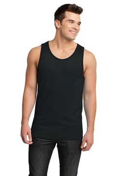 Picture of District ®  - Young Mens Cotton Ringer Tank DT1500
