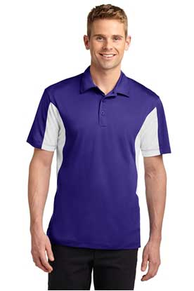 Picture of Sport-Tek ®  Tall Side Blocked Micropique Sport-Wick ®  Polo. TST655