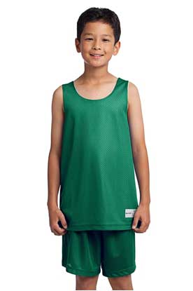 Picture of Sport-Tek ®  Youth PosiCharge ®  Classic Mesh Reversible Tank. YST500