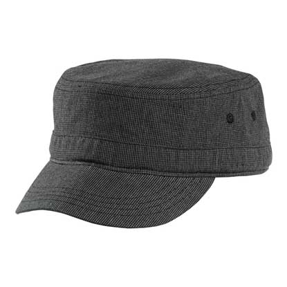 Picture of District ®  - Houndstooth Military Hat DT619