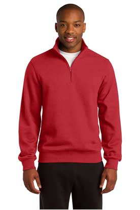 Picture of Sport-Tek ®  Tall 1/4-Zip Sweatshirt. TST253