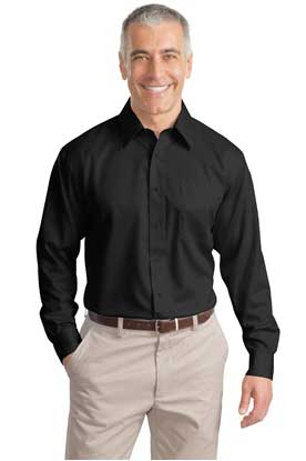 Picture of Port Authority ®  Tall Non-Iron Twill Shirt. TLS638