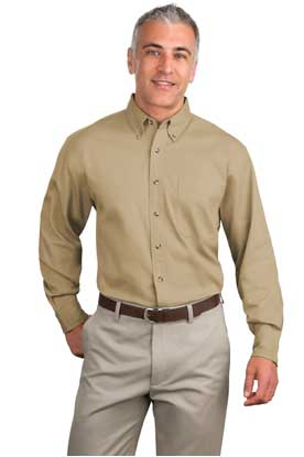 Picture of Port Authority ®  Tall Long Sleeve Twill Shirt.  TLS600T