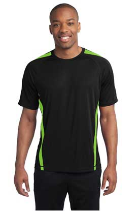 Picture of Sport-Tek ®  Colorblock PosiCharge ®  Competitor™ Tee. ST351