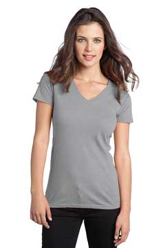 Picture of District ®  - Juniors The Concert Tee ®  V-Neck. DT5501