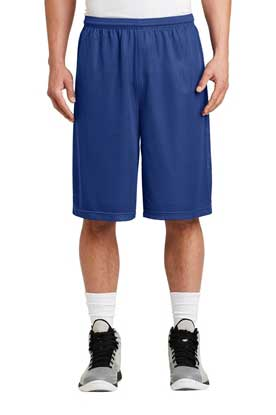 Picture of Sport-Tek ®  Extra Long PosiCharge ®  Classic Mesh Short. ST511
