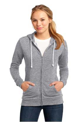 Picture of District ®  - Juniors Core Fleece Full-Zip Hoodie DT290