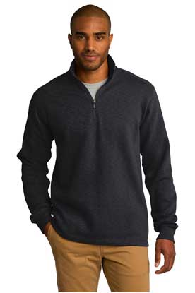 Picture of Port Authority ®  Slub Fleece 1/4-Zip Pullover. F295