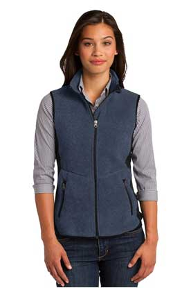 Picture of Port Authority ®  Ladies R-Tek ®  Pro Fleece Full-Zip Vest. L228