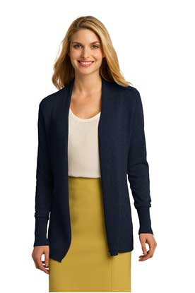 Picture of Port Authority ®  Ladies Open Front Cardigan Sweater. LSW289