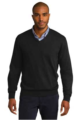 Picture of Port Authority ®  V-Neck Sweater. SW285