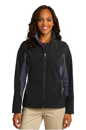 Picture of Port Authority ®  Ladies Core Colorblock Soft Shell Jacket. L318
