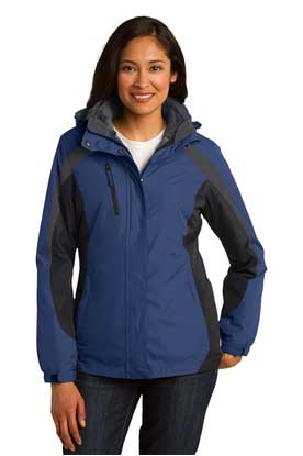 Picture of Port Authority ®  Ladies Colorblock 3-in-1 Jacket. L321