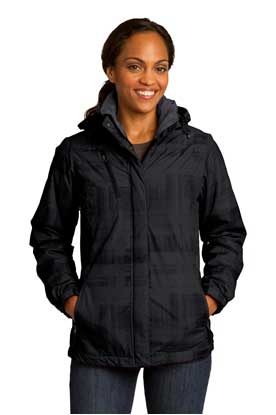 Picture of Port Authority ®  Ladies Brushstroke Print Insulated Jacket. L320
