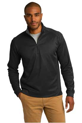 Picture of Port Authority ®  Vertical Texture 1/4-Zip Pullover. K805