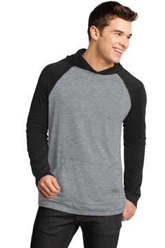 Picture of District ®  - Young Mens 50/50 Raglan Hoodie. DT128