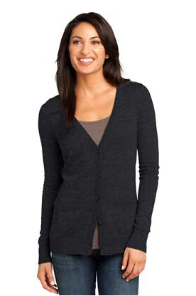 Picture of District Made ®  - Ladies Cardigan Sweater. DM415