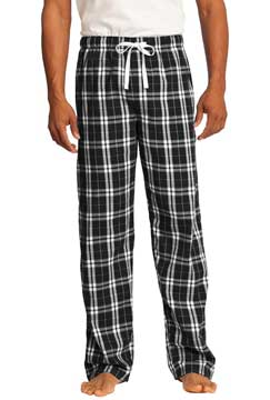 Picture of District ®  - Young Mens Flannel Plaid Pant. DT1800