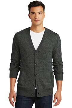 Picture of District Made ®  - Mens Cardigan Sweater. DM315