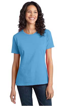 Picture of Port & Company ®  - Ladies Ring Spun Cotton Tee. LPC150