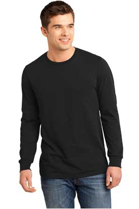 Picture of District ®  - Young Mens The Concert Tee ®  Long Sleeve. DT5200