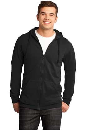 Picture of District ®  - Young Mens The Concert Fleece ®  Full-Zip Hoodie. DT800