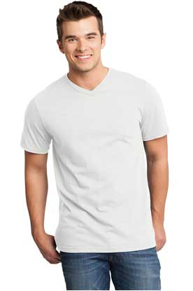 Picture of District ®  - Young Mens Very Important Tee ®  V-Neck. DT6500