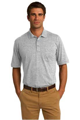 Picture of Port & Company ®  Core Blend Jersey Knit Pocket Polo. KP55P