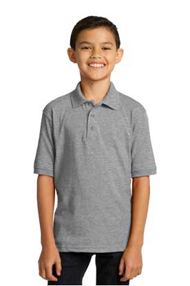 Picture of Port & Company ®  Youth Core Blend Jersey Knit Polo. KP55Y