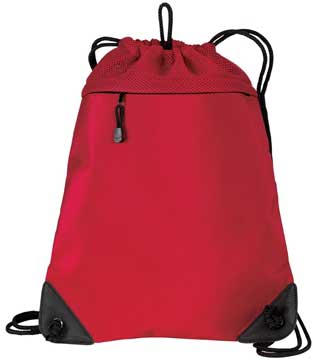 Picture of Port Authority ®  - Cinch Pack with Mesh Trim.  BG810