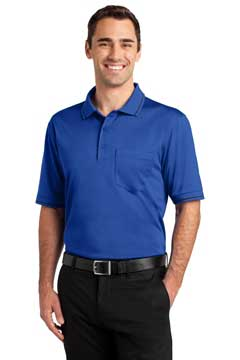 Picture of CornerStone ®  Select Snag-Proof Tipped Pocket Polo. CS415