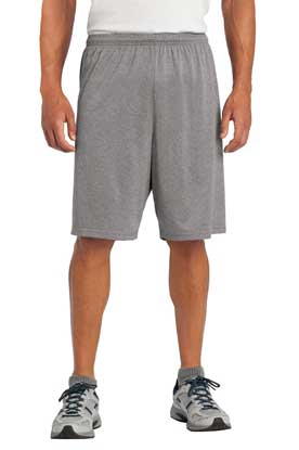 Picture of Sport-Tek ®  Heather Contender ™  Short. ST365