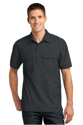 Picture of Port Authority ®  Oxford Pique Double Pocket Polo. K557