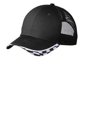 Picture of Port Authority ®  Checkered Racing Mesh Back Cap. C903