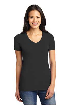 Picture of Port Authority ®  Ladies Concept Stretch V-Neck Tee. LM1005