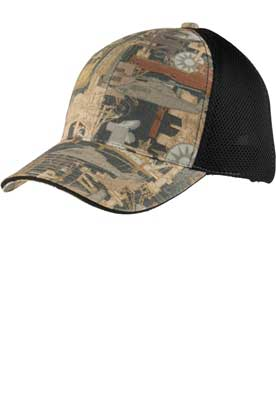 Picture of Port Authority ®  Camouflage Cap with Air Mesh Back. C912