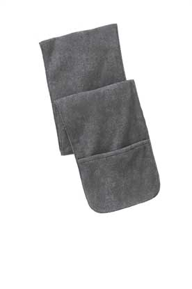 Picture of Port Authority ®  Extra Long Fleece Scarf with Pockets. FS06