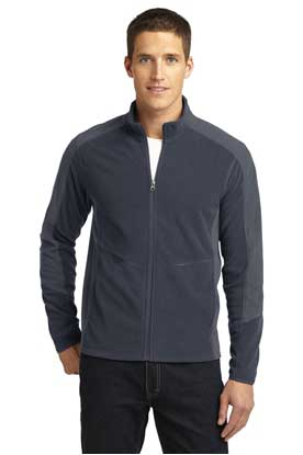 Picture of Port Authority ®  Colorblock Microfleece Jacket. F230