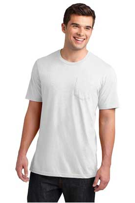 Picture of District ®  Young Mens Very Important Tee ®  with Pocket. DT6000P