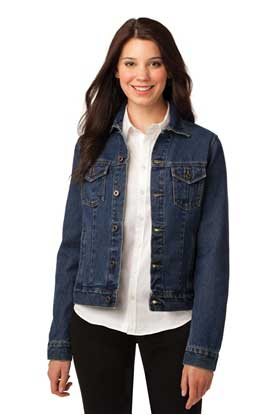 Picture of Port Authority ®  Ladies Denim Jacket. L7620