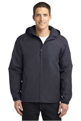 Picture of Port Authority ®  Hooded Charger Jacket. J327