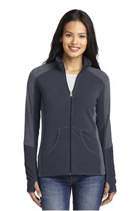 Picture of Port Authority ®  Ladies Colorblock Microfleece Jacket. L230