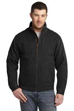 Picture of CornerStone ®  Washed Duck Cloth Flannel-Lined Work Jacket. CSJ40