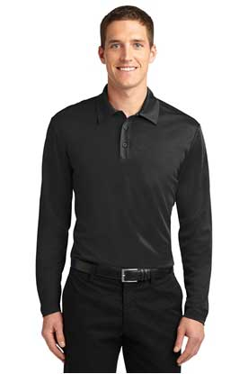 Picture of Port Authority ®  Silk Touch™ Performance Long Sleeve Polo. K540LS