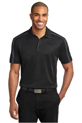 Picture of Port Authority ®  Silk Touch™ Performance Colorblock Stripe Polo. K547